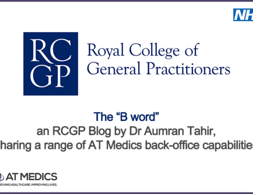 "RCGP Blog by Dr Aumran Tahir – The ""B word"""
